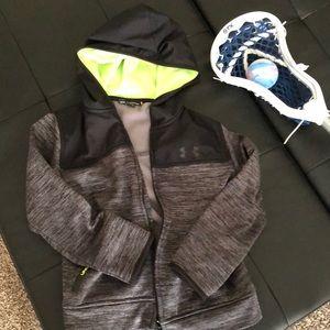 Under Armour zip up lightweight coat